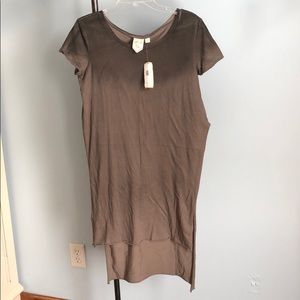 Ombre tunic t shirt